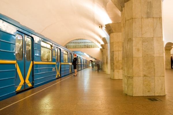 """Станція """"Майдан Незалежності"""". Платформа."""