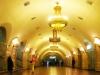 """Станція """"Площа Льва Толстого"""". Центральний зал."""