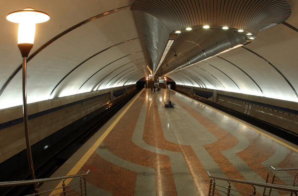 """Станція """"Бориспільська"""". Загальний план."""