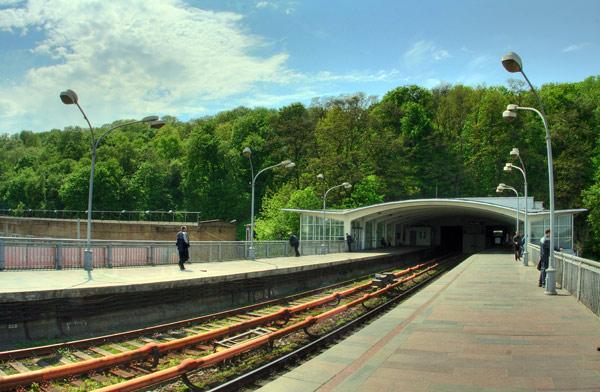Дніпро. Портал тунелю.