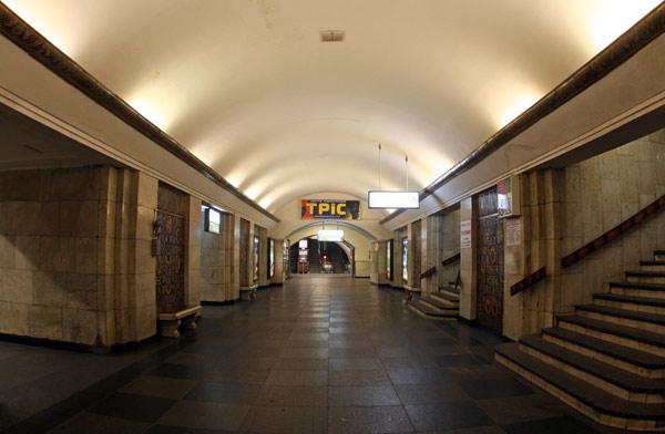 Хрещатик. Панорама центрального залу.