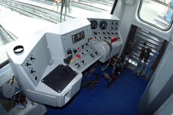 Кабіна машиніста вагону 81-717(новітня модифікація)