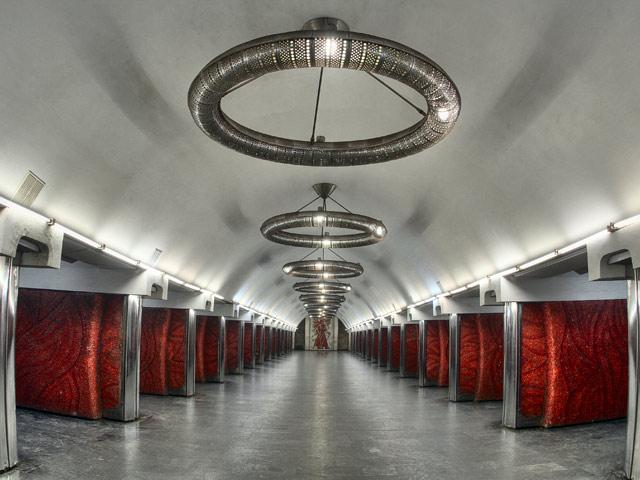 """Палац """"Україна"""". Центральний зал."""
