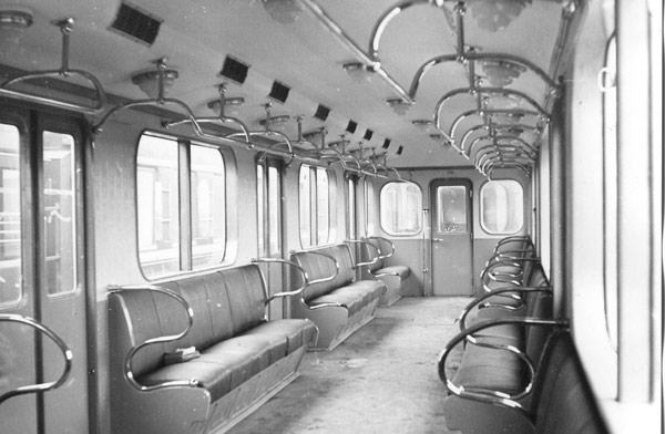 Салон вагону типу Д / Салон вагона типа Д / Interior of wagon type D